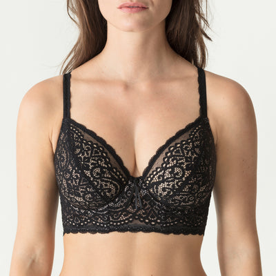 Prima Donna I Do Longline Bra 014-1607 Black