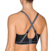 Prima Donna The Sweater Wireless Sports Bra 600-0113 Black