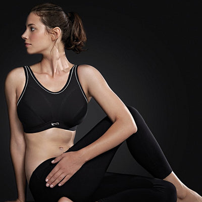 Royce Impact Free Scoop Neck Sports Bra S1224 Black
