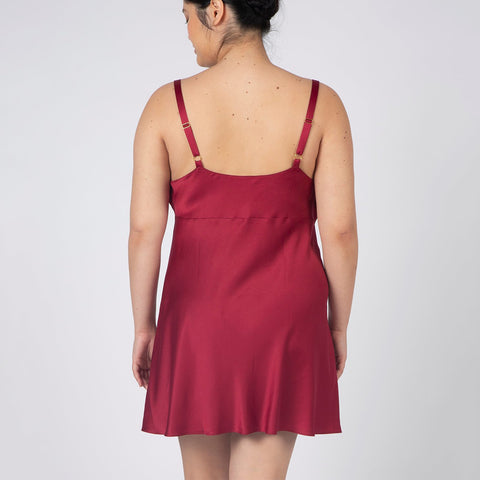 Rya Collection Heavenly Chemise 469 Sangria