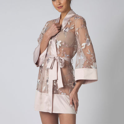 Rya Collection Stunning Robe 486 Sepia Rose
