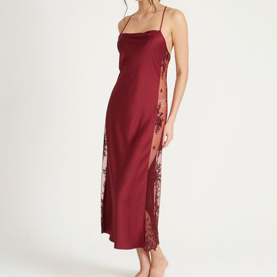 Rya Collection Darling Gown 219 Burgundy