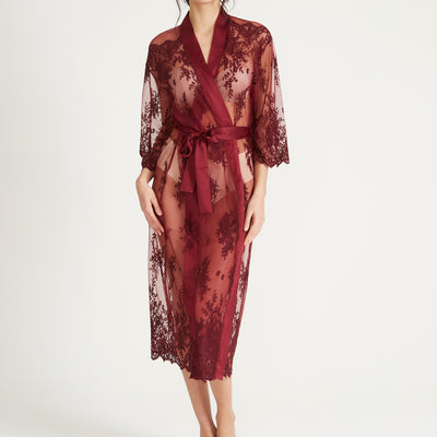 Rya Collection Darling Robe 220 Burgundy