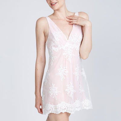 Rya Collection Honeymoon Chemise Blush