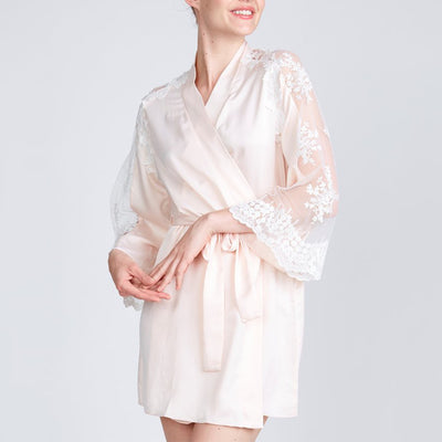 Rya Collection Honeymoon Robe Blush