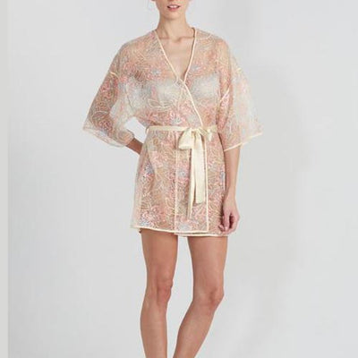 Rya Collection Sparkling Cover Up Robe 290 Champagne