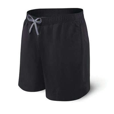 Saxx 2N1 Swim Short Cannonball 7'' SXSS30-BBB Black