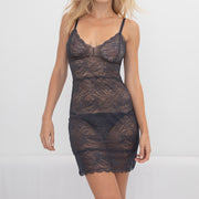 Samantha Chang All Lace Rosses Chemise SC4421120 Nightfall