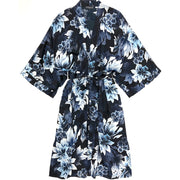 Samantha Chang Classic Silk Kimono SC818025 Heavenly Blue