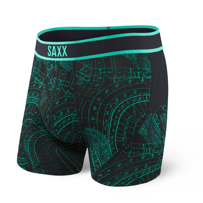 Saxx Kinetic Boxer Brief Sxbb27-Gri Grid Iron
