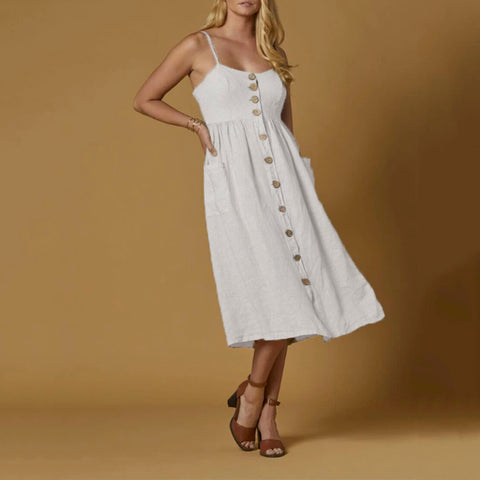 Scandal Lilo Dress White