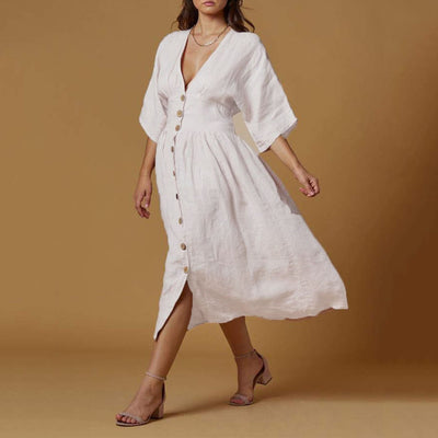 Scandal Leilani Dress White