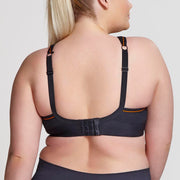 Sculptresse by Panache Plus Size Underwire Sports Bra 9441 Black