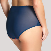 Sculptresse by Panache Chi Chi High Rise Brief 7692 Teal High Waist