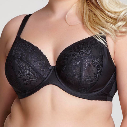 Sculptresse by Panache Roxie Plunge Bra 9586 Black