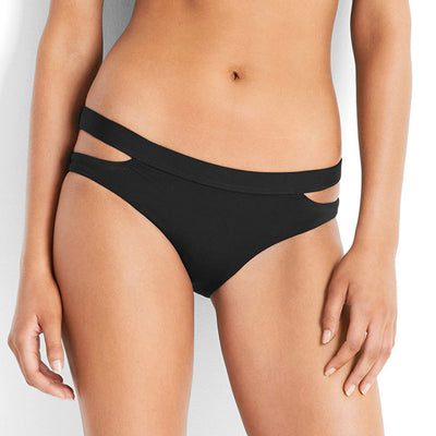 Seafolly Active Split Band Hipster Bikini 40357-058 Black