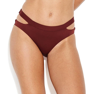 Seafolly Active Split Band Hipster Bikini 40357-058 Plum