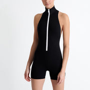 Shan Balnea Osaka Sporty One Piece Swimsuit 42090-11 Black