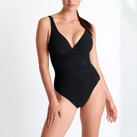 Shan Classique One Piece Swimsuit 42060-02 Black