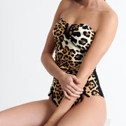 Shan Kawa One Piece Swimsuit 42020-08 Leopard