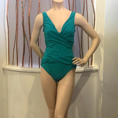 Shan Classique One Piece Swimsuit 4960-02 Jade