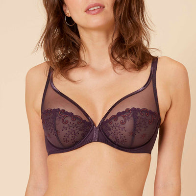 Simone Perele Delice Full Coverage Plunge 12X319 Hypnotic Purple