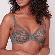 Simone Perele Java Full Coverage Plunge 12G319 Grey