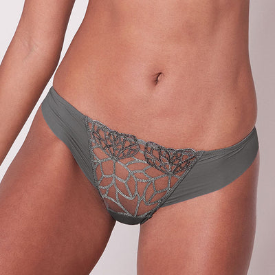 Simone Perele Java Thong 12G700 Grey