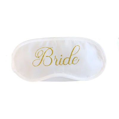 The Sleepy Cottage Bride Sleep Mask