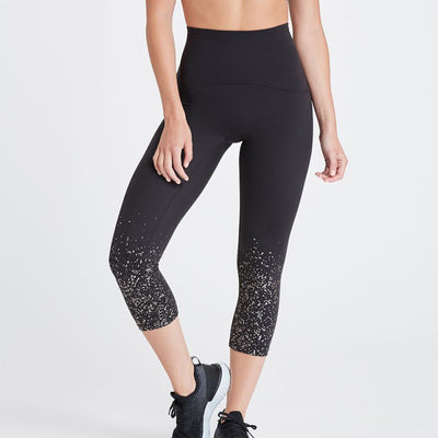 Spanx Booty Boost Active Cropped Legging 50123R Confetti
