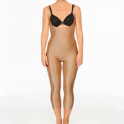 Spanx Suit Your Fancy Open-Bust Catsuit 10155R Beige