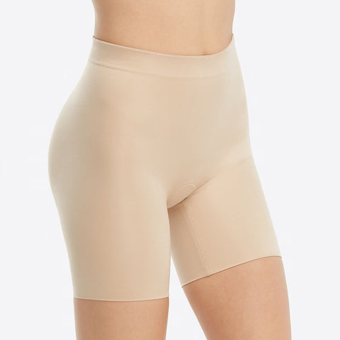 Spanx Suit Your Fancy Booty Booster Mid-Thigh 10194R Natural