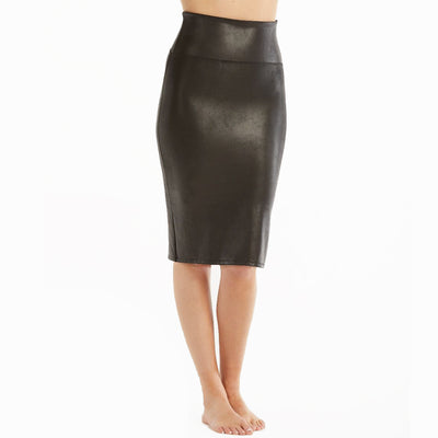 Spanx Faux Leather Pencil Skirt 20190R Skirt