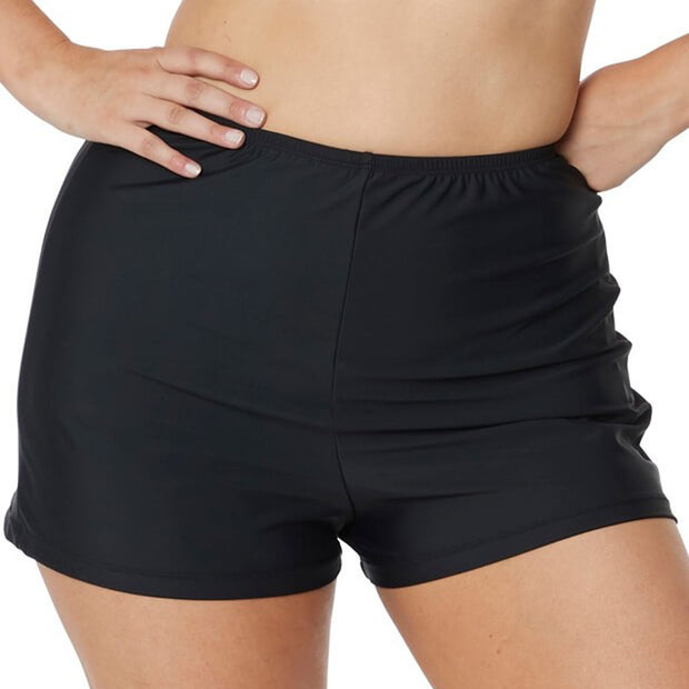 T.H.E Full Swim Short 77 Black