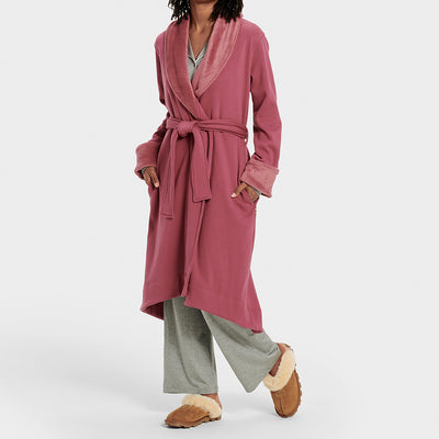 UGG Duffield Deluxe Plus Size Robe 1095614 Bougainvillea