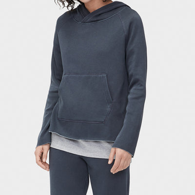 UGG Pillar Washed Hoodie 1096481 Charcoal