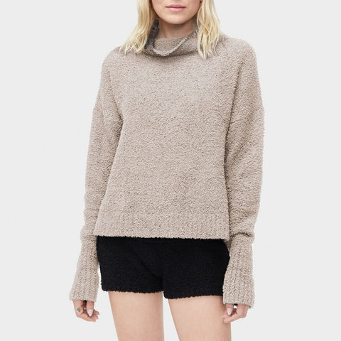 UGG Sage Turtleneck Sweater 1018963 Driftwood