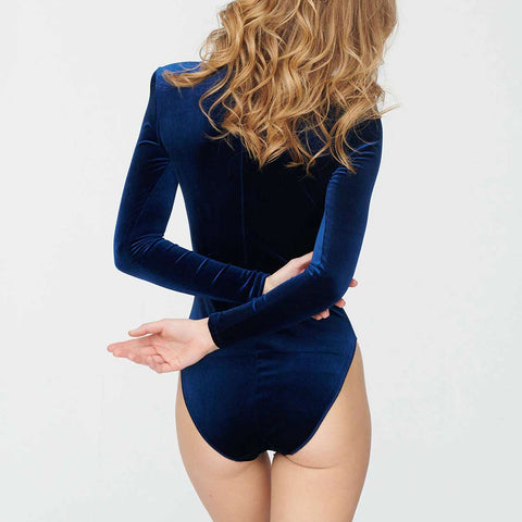 Undress Code Let's Dance Bodysuit Blue