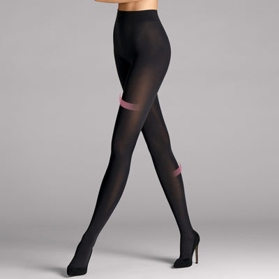 Wolford Velvet 66 Leg Support Tights 14553 Black