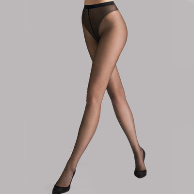 Wolford Luxe 9 Tights 17028 Black