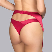 Andres Sarda Tiziano Garter Belt 330-8770 Persian Red