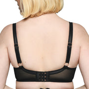 Scantilly by Curvy Kate Velvet Rose Plunge Bra St4101 Black