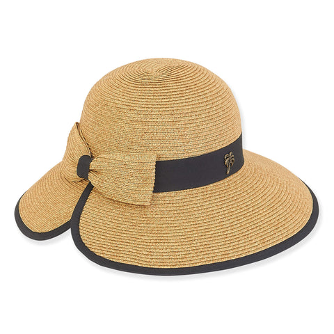 Sun 'N'Sand Paper Braid Hat HH2163 Tan
