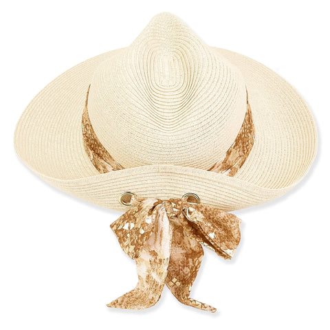 Sun 'N' Sand Paper Braid Hat HH2409 Tan
