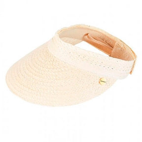 Seafolly Visor Hat 71389-Ht Off White