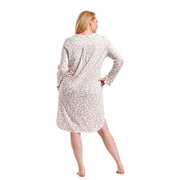 Rösch Curves Nightgown in the Leaves Print 1184526 Rose