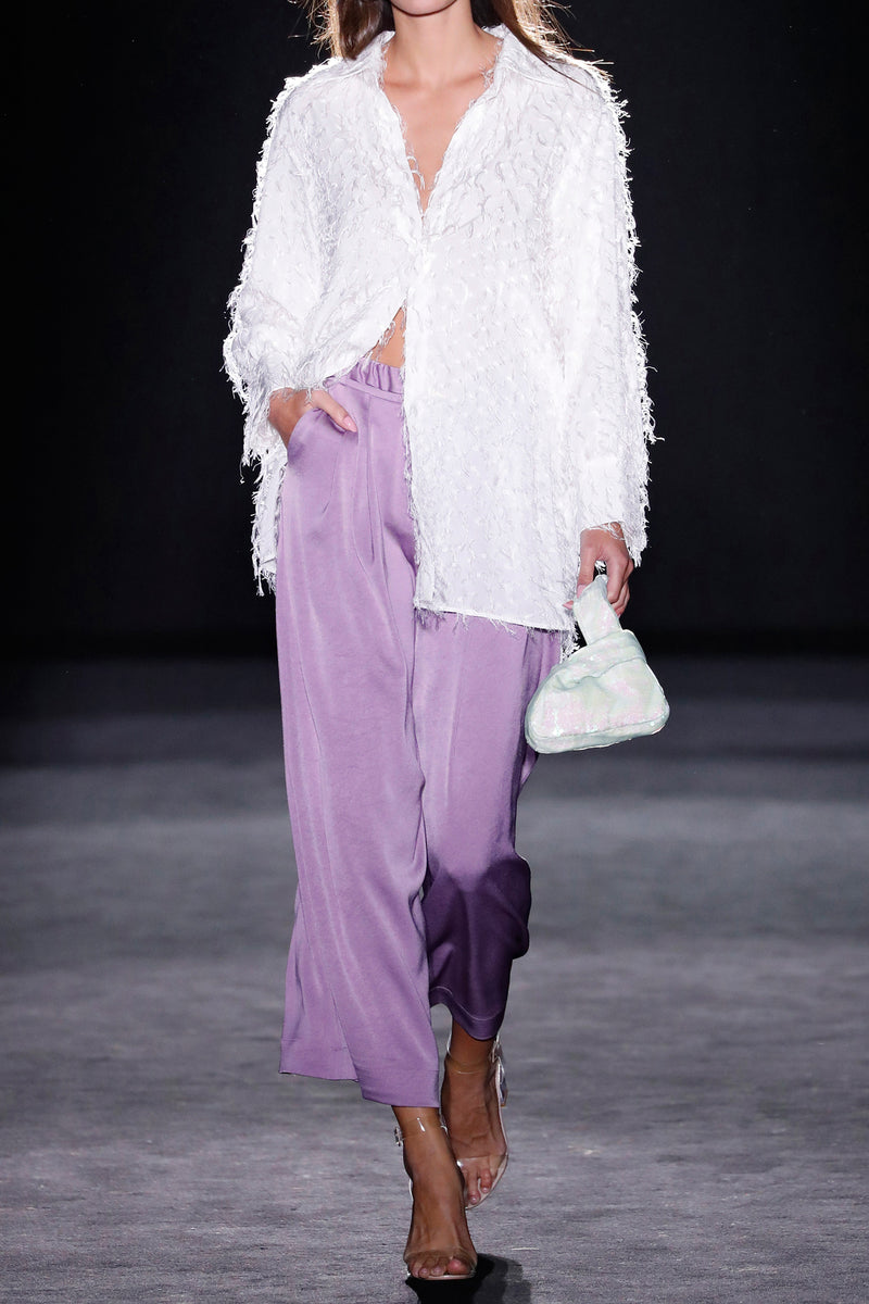Theory Shirt Fringed