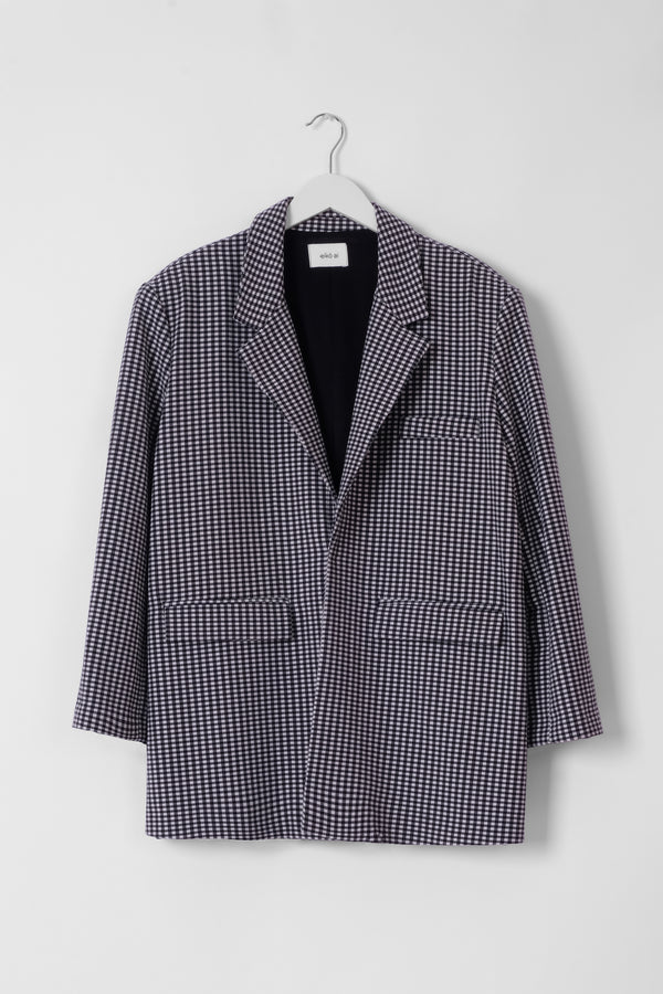 Union Blazer Gingham