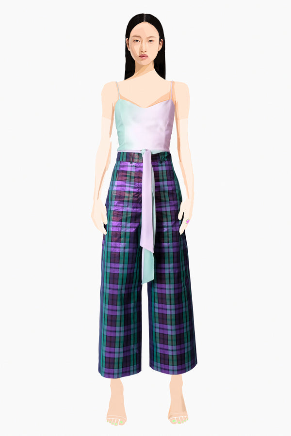 View Pants Plaid