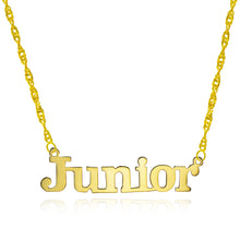14K Yellow Gold Personalized Name Necklace - Style 13